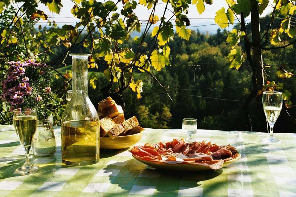 break, eat, picnic