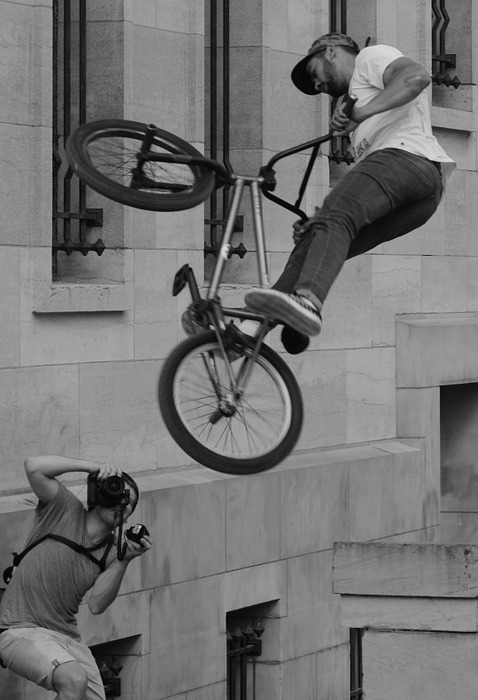 bicycle, bmx, sports