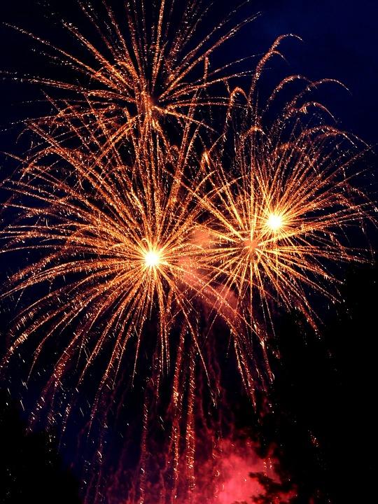 new year, december 31, fireworks