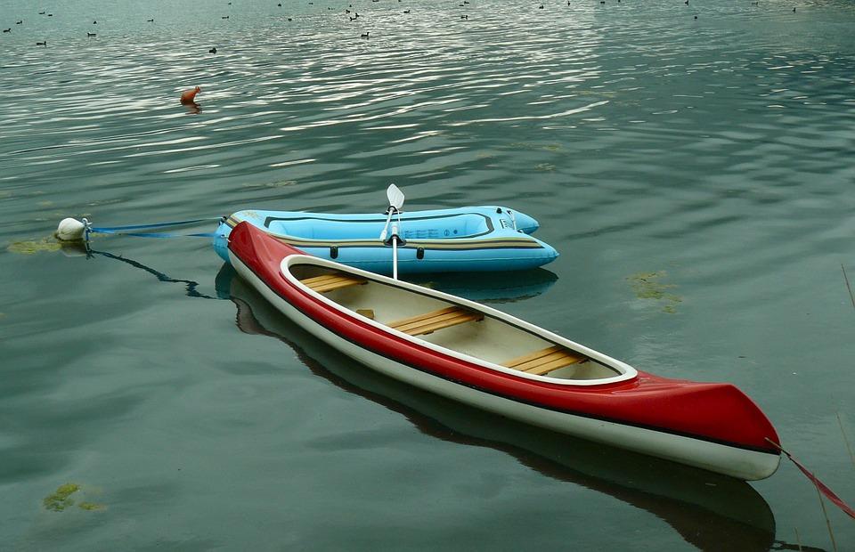 kayak, canoeing, boats