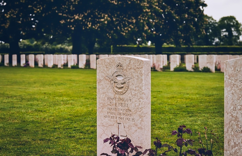 d-day, cemetery, british