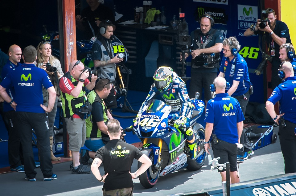 valentino rossi, pit action, the doctor