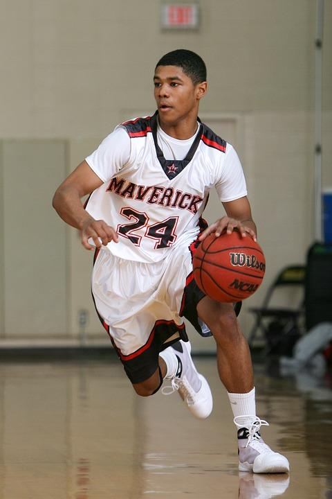 basketball, player, game