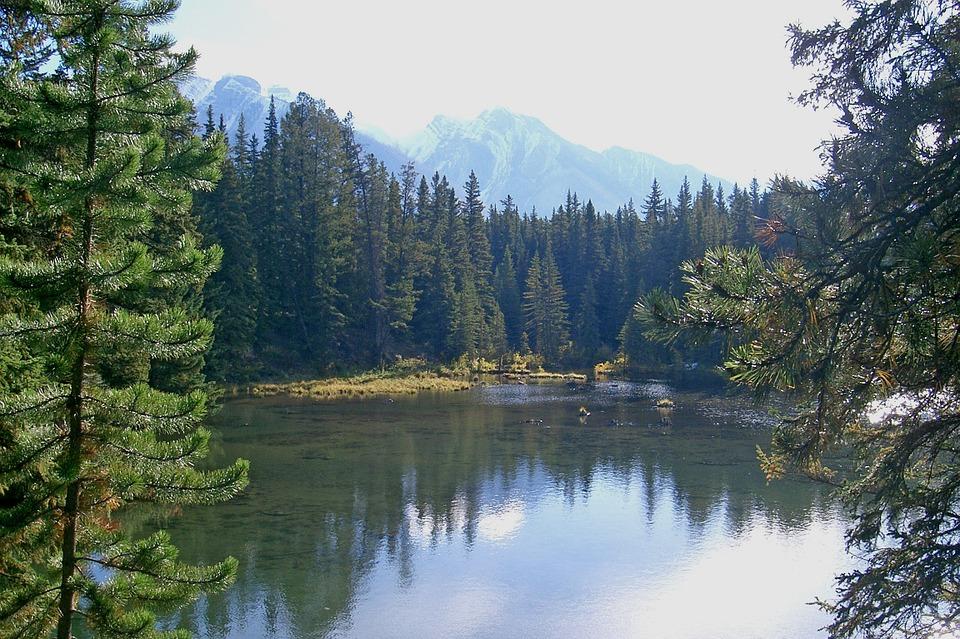 canada, banff national park, national park