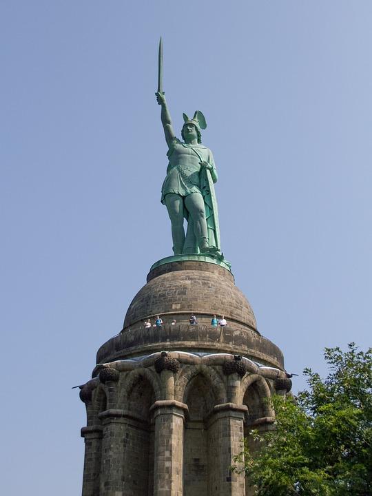 detmold, hermann memorial, teutoburg forest