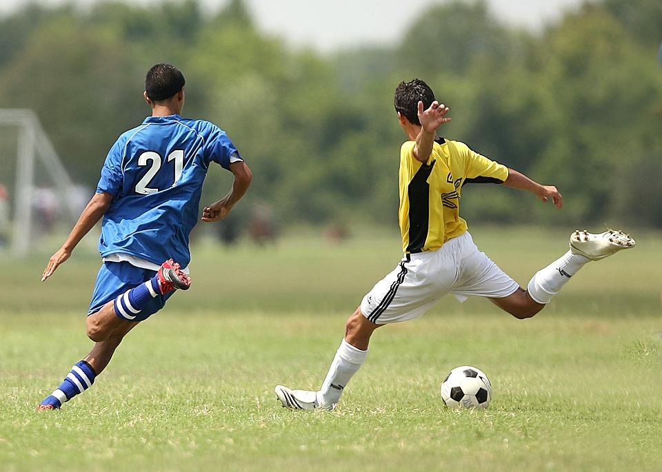 soccer, football, soccer players