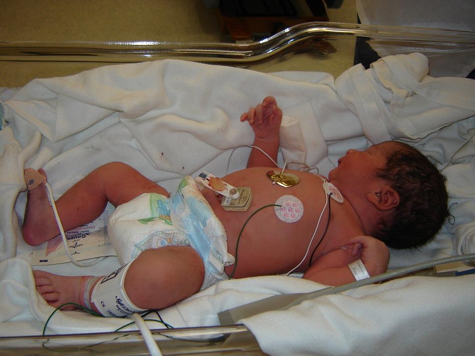 bebe, hospital, doctor