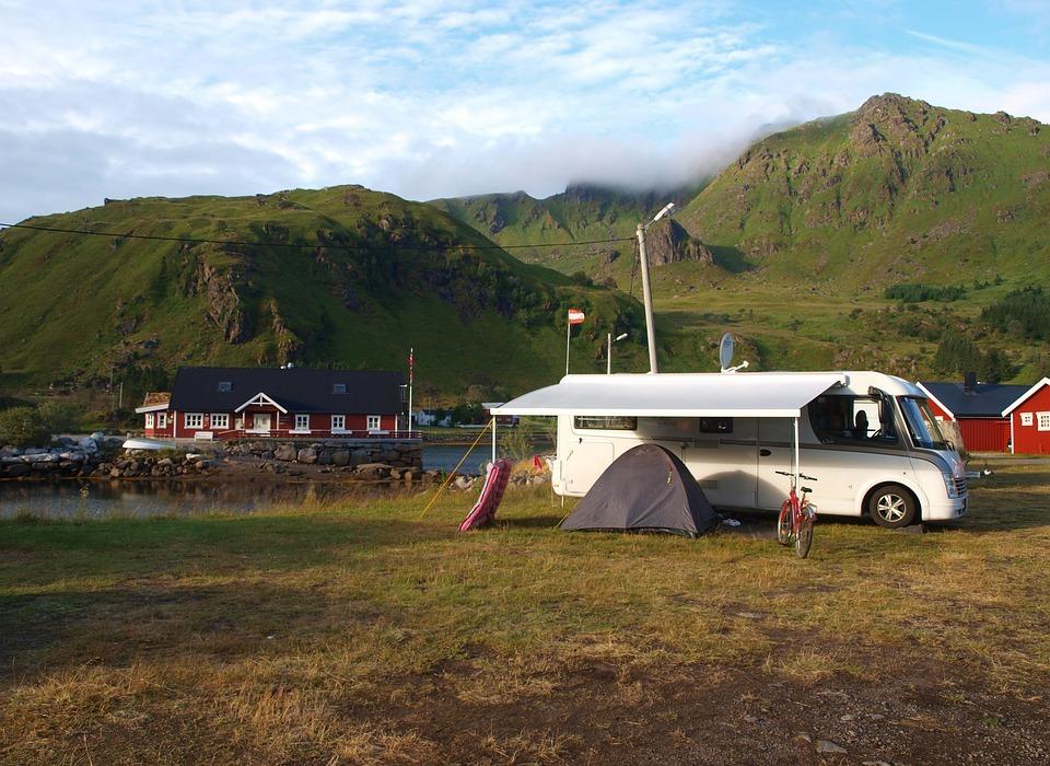 camping, scandinavia, lofoten