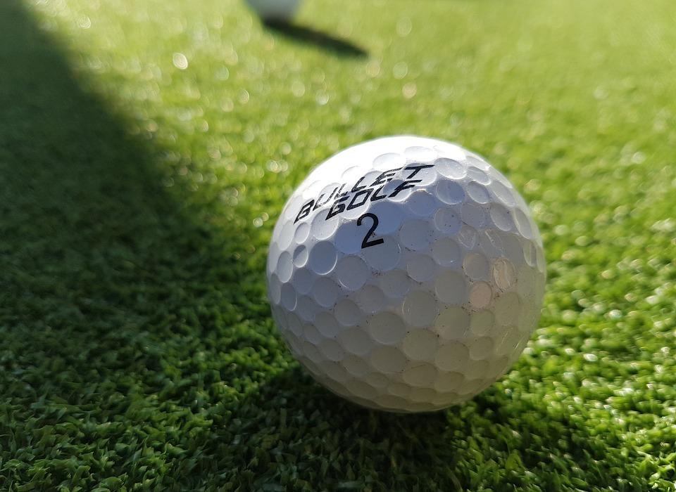 golf ball, ball, sport