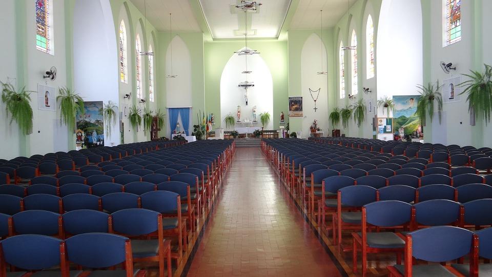church, catholic, seat