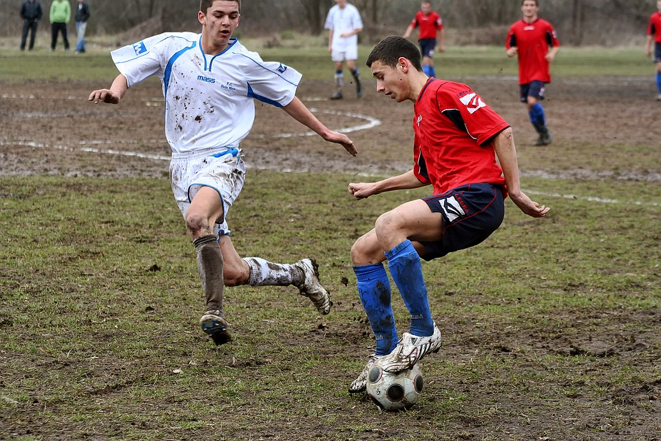 soccer, football, feet