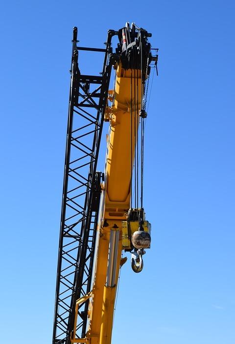 crane, labor day, work