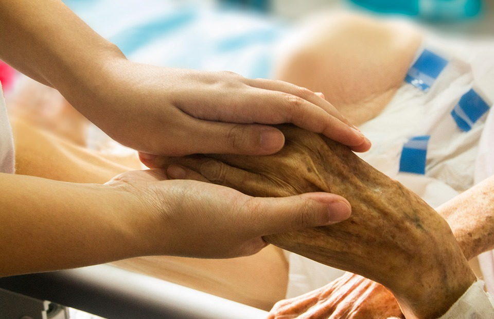 hand in hand, hospice, patient