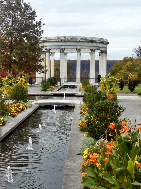 park, classical, greek