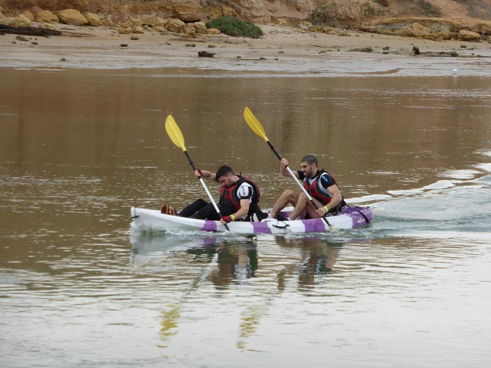 canoeing, paddlers, kayaking