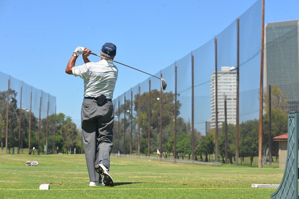 golf, sport, green