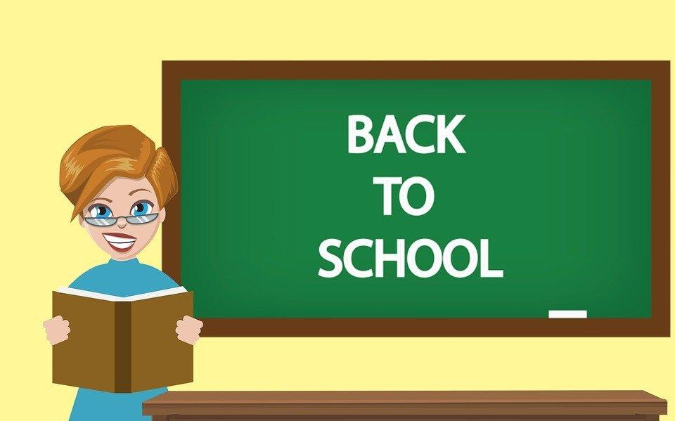 classroom, teacher, board