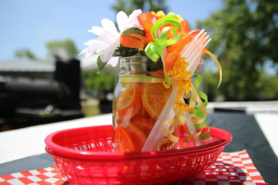 picnic, event, decoration