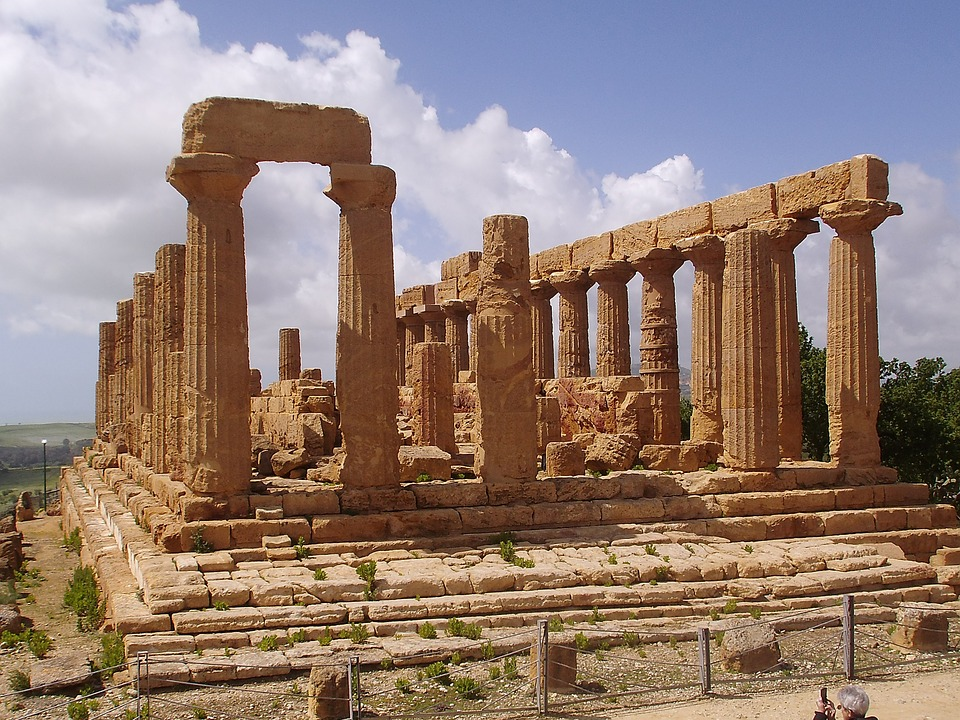 sicily, temple, antiquity