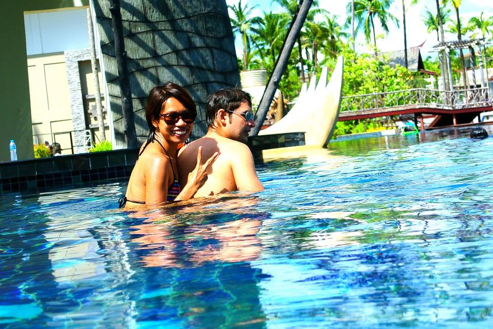 swimming pool, outdoor pool, resort