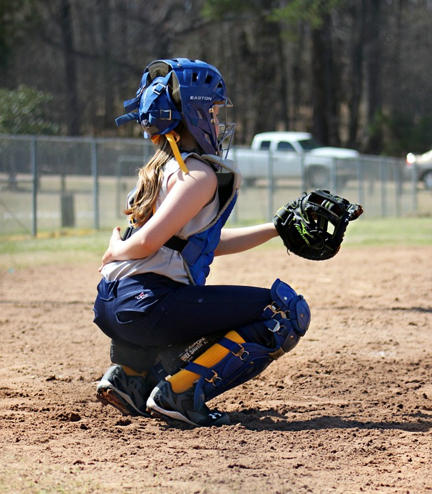 catcher, softball, sports