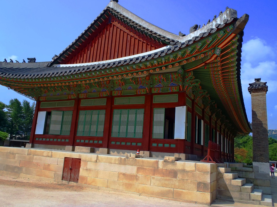 korea, building, monument