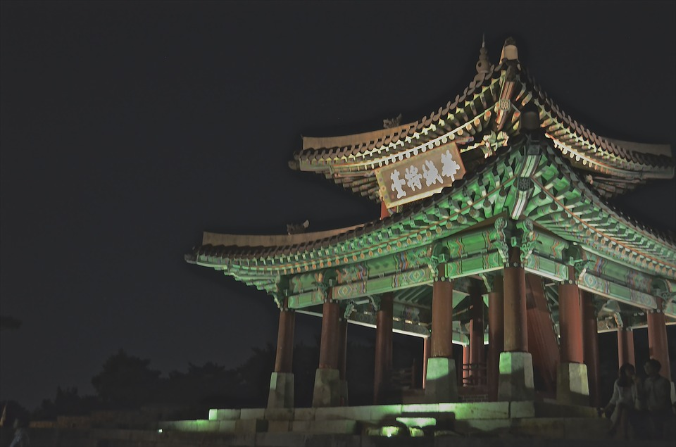 korea, temple, asia