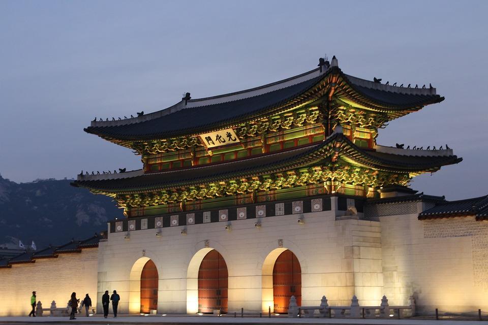 korea, sejongno, gwanghwamun