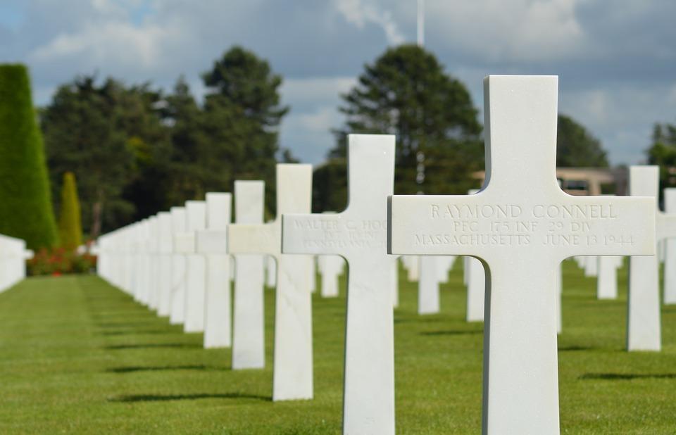 falls, commemoration, american cemetery