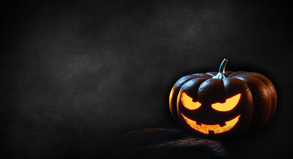 halloween, pumpkin, dark