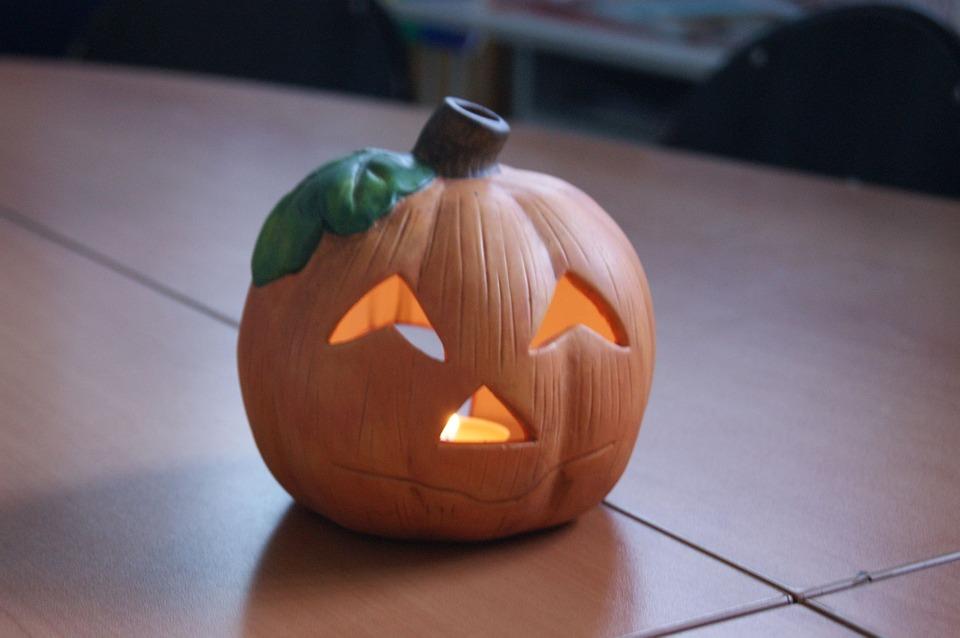 pumpkin, halloween, decoration