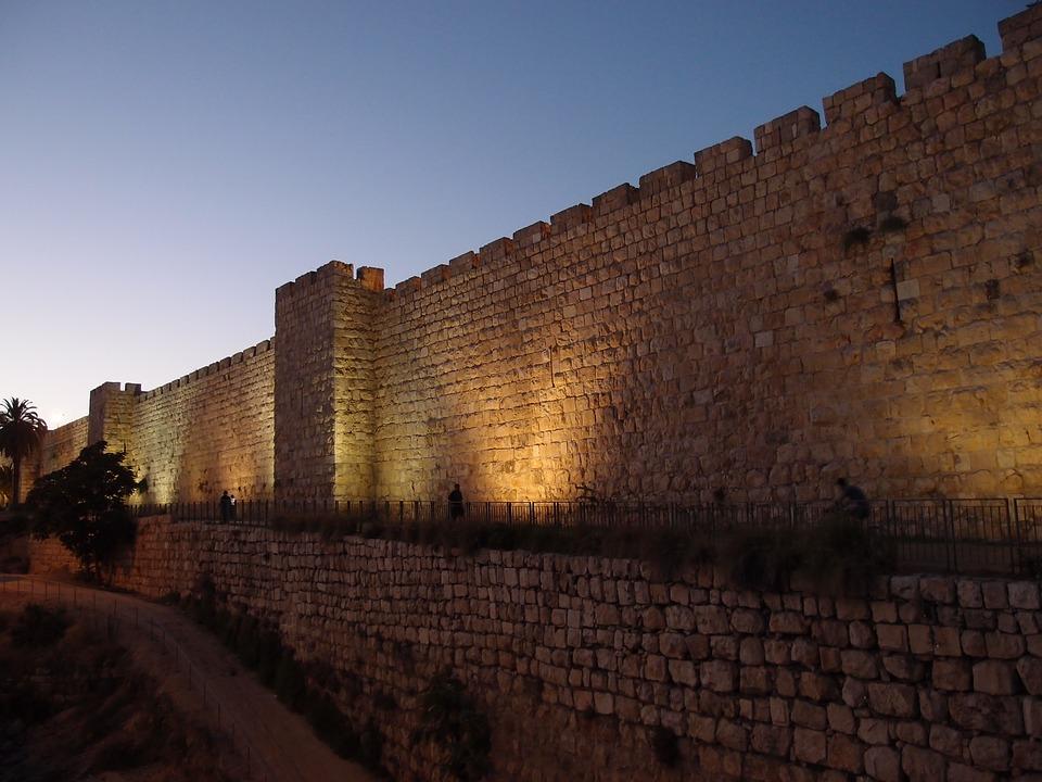 wall, jerusalem, israel