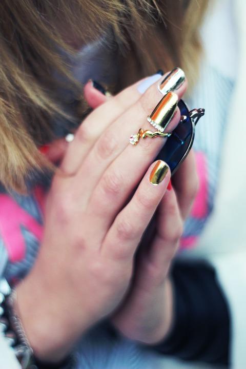 nail, jewellery, jewelry