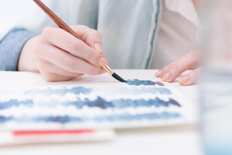 painting, artist, artist painting