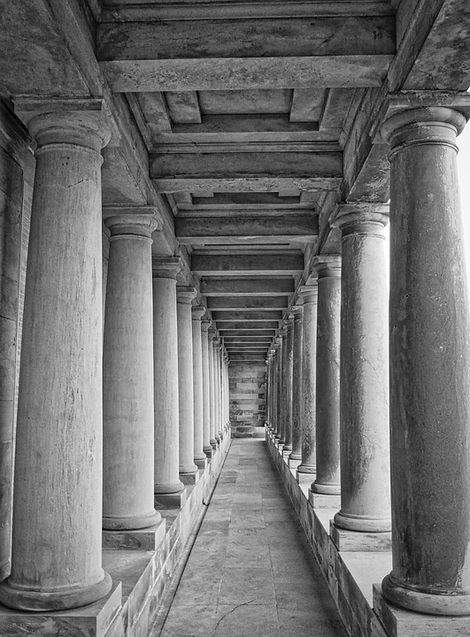 columns, colonnade, classical