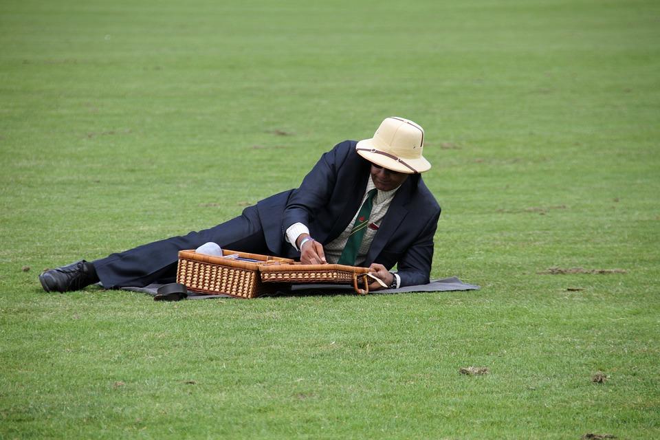 picnic, man, outdoors