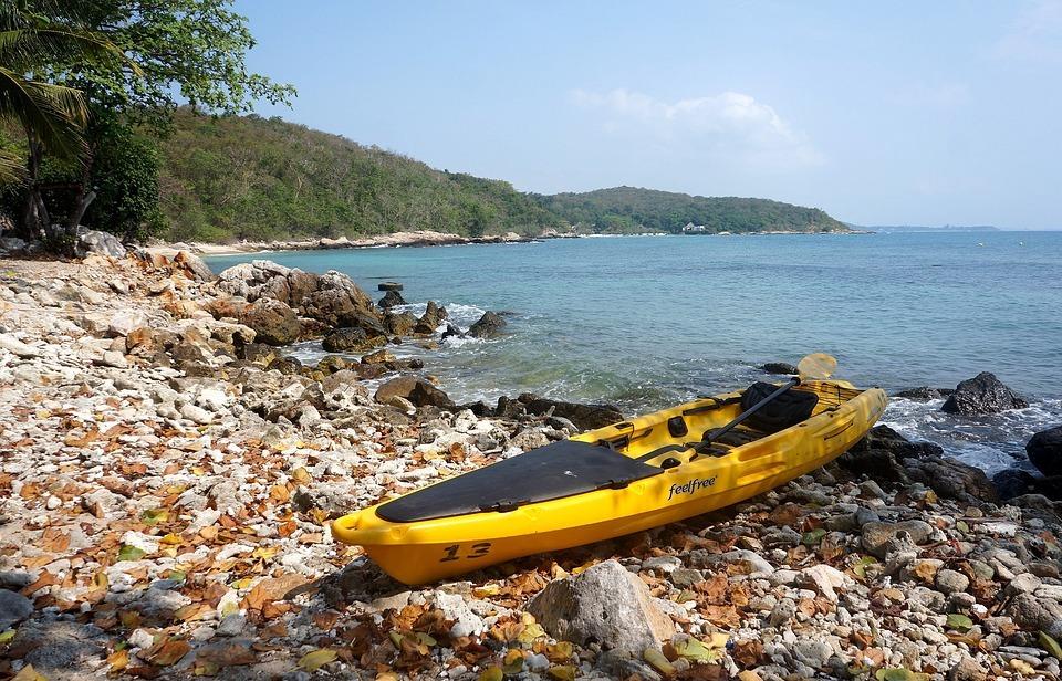 sea, kayak, boat