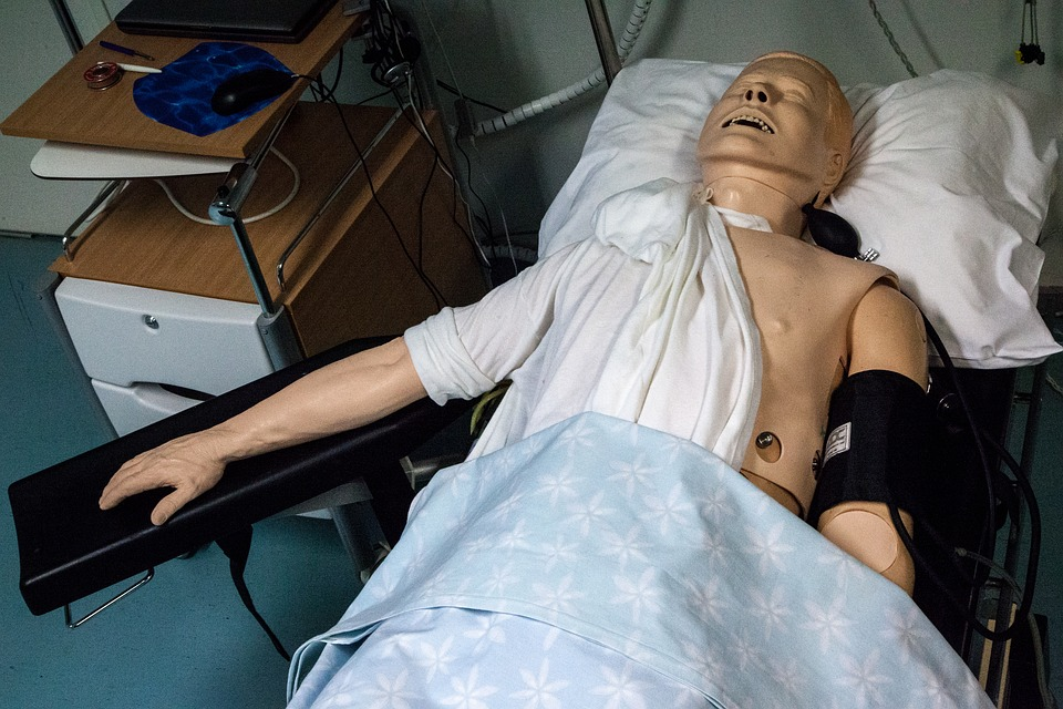 paramedics doll, hospital, medical