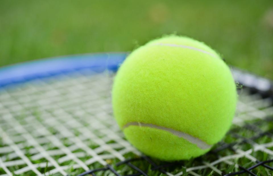 tennis, ball, racket