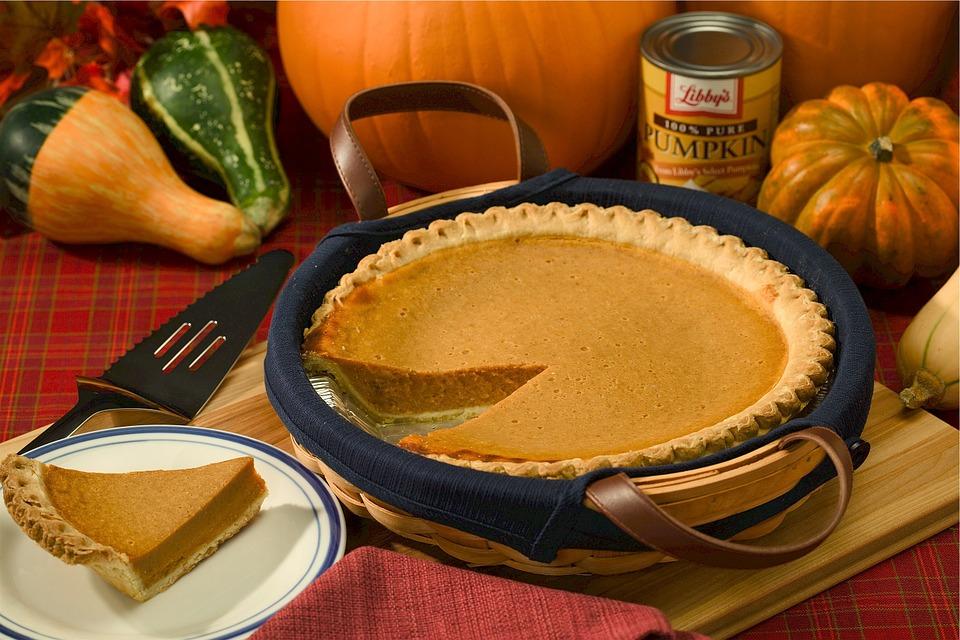 pumpkin pie, autumn, holiday