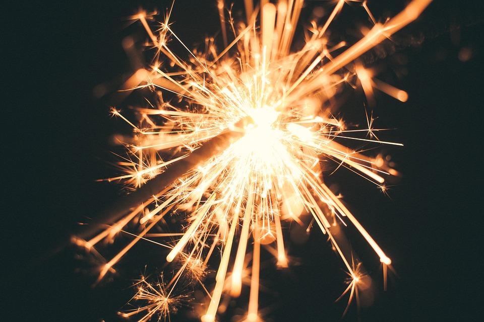 sparkler, firework, celebration