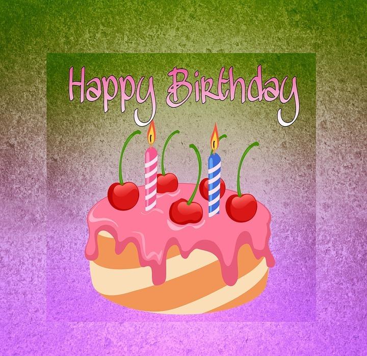 birthday, happy birthday, cake