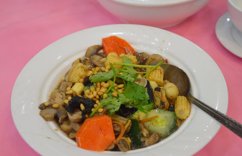 vegetables, chinese food, dish