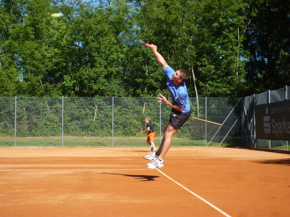 tennis, volley, sport