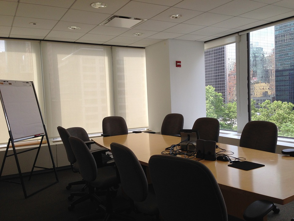 conference room, meeting room, conference
