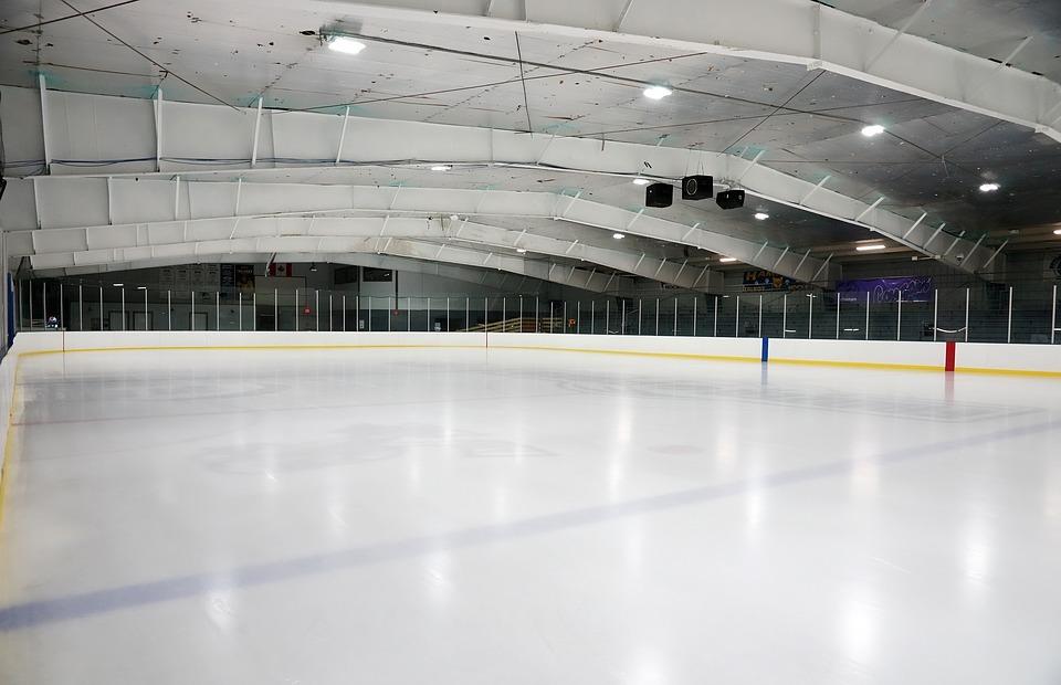 indoors, empty, hockey