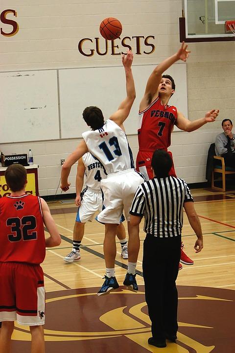basketball, game, ball