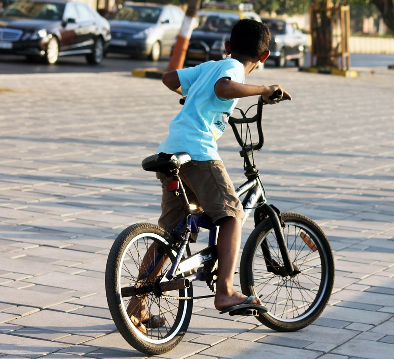 bmx, bicycle, vehicle