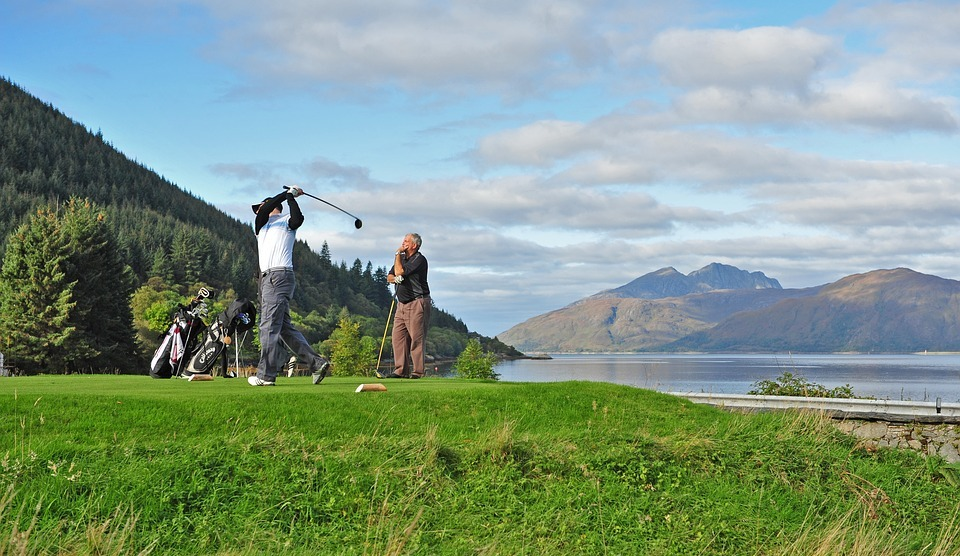 golf, scottish golf, loch linnhe