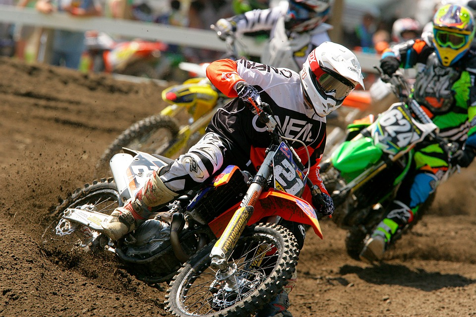 motocross, dirt bike, racing